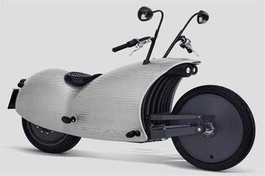 Una moto sofisticada y eléctrica