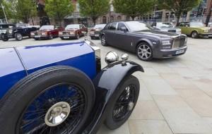 110 aniversario del nacimiento de Rolls Royce