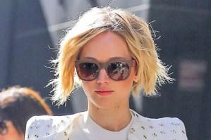 Jennifer Lawrence; camaleónica