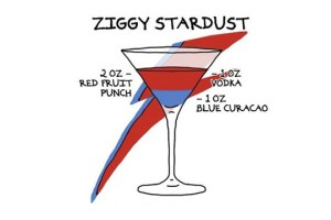 El cocktail de Ziggy Stardust