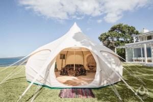 Un campamento especial