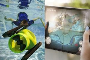 El robot submarino que toma fotografías