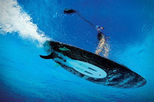 Surfear será sencillo con esta tabla