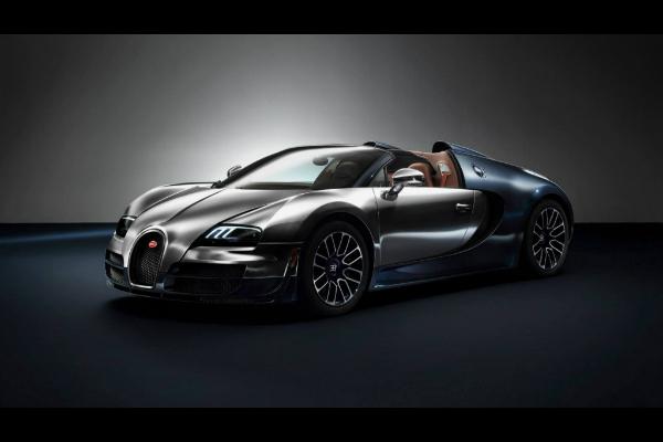 El último modelo de Les Légendes de Bugatti