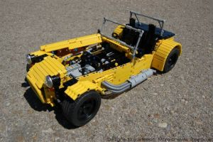 ¡Conduce un auto hecho con legos!