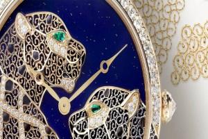 ¿Encaje de oro? Sí, en el nuevo SIHH 2015 de Cartier