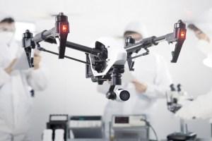 DJI Inspire 1: la cámara que te hará sentir en un reality show