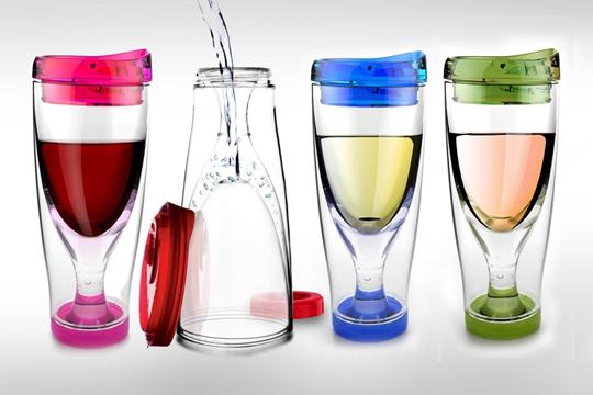 Copas de vino ¡para llevar!