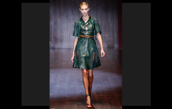 Leather: tendencia reinante esta para primavera 2015