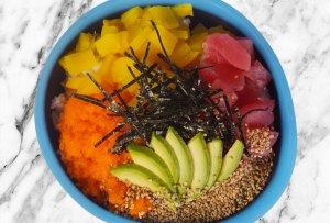 5 lugares para comer los mejores tuna bowls de la CDMX
