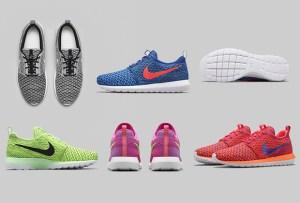 Vive el sportswear con los nuevos Nike Roshe Flyknit