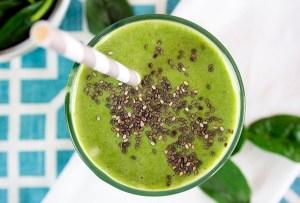 3 deliciosos smoothies verdes