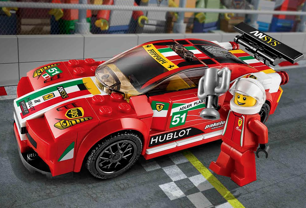 Ferrari, McLaren y Porsche en versión Lego