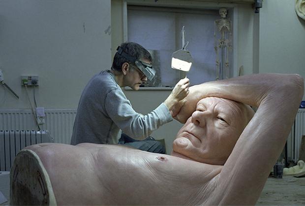 10 famosos artistas en su estudio creativo - Studio-Ron-Mueck