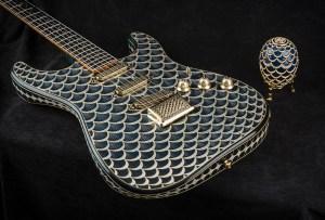 Fender creó una guitarra inspirándose en un huevo Fabregé