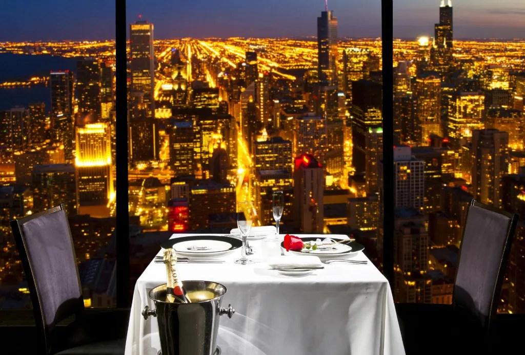 Restaurantes en los que la vista hará que te olvides de la comida - chicago