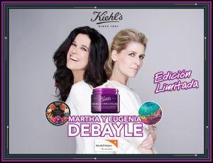 Kiehl's colabora con Eugenia y Martha Debayle