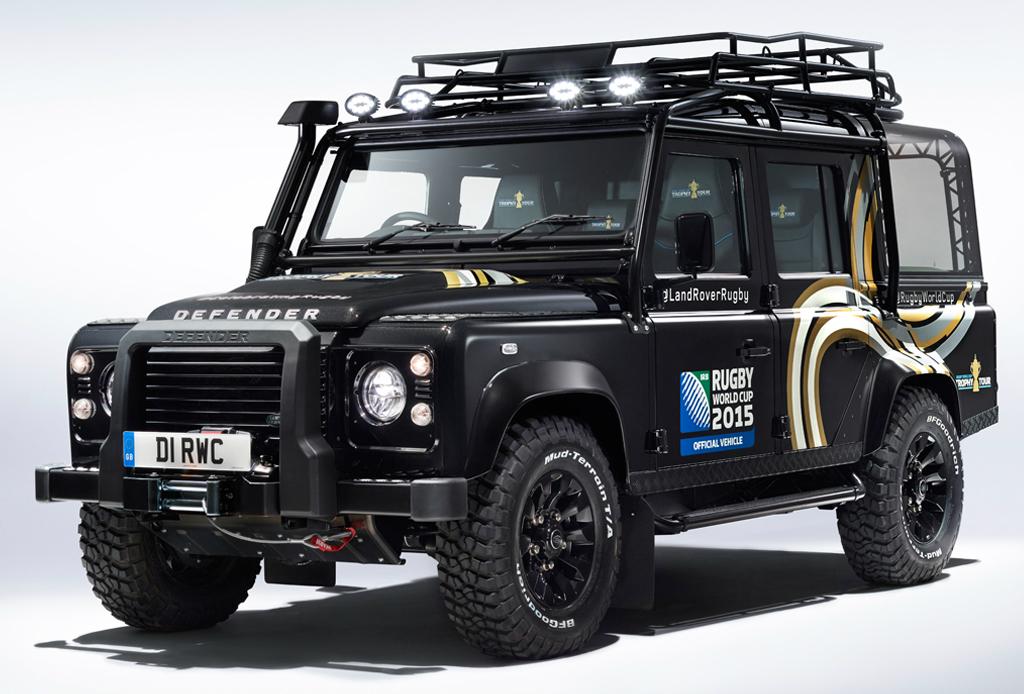 Land Rover se une a la celebración de la Rugby World Cup 2015