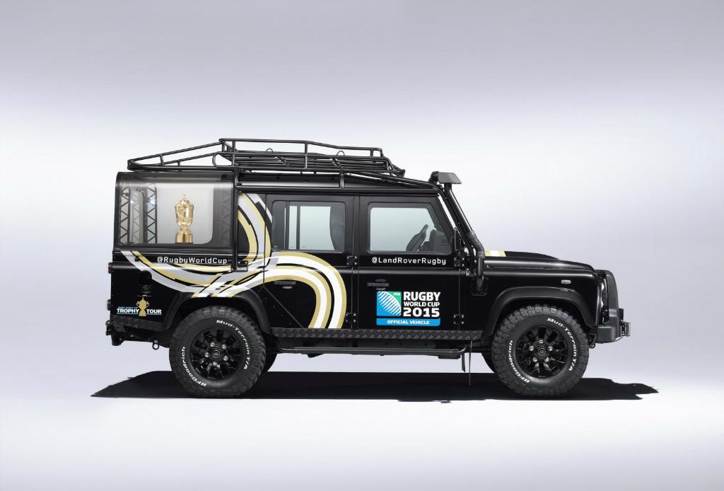 Land Rover se une a la celebración de la Rugby World Cup 2015 - Land-Rover-Rugby-World-Cup