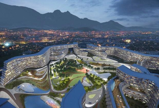 ¿De visita en Monterrey? Aquí 10 lugares básicos para conocer - Zaha-Hadid-Monterrey-9-1024x694