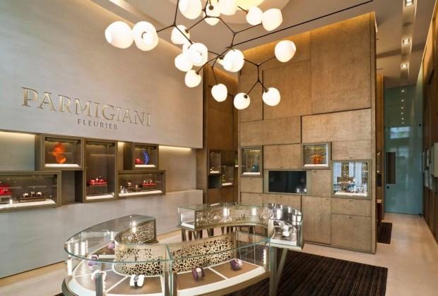Parmigiani Fleurier abrió su primera boutique de Estados Unidos - parmigiani-1024x694