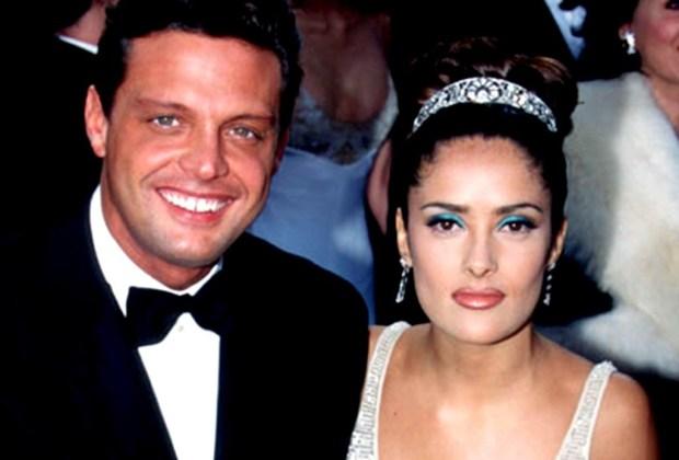 Celebridades que no te imaginas que fueron novios - salma-hayek-y-luis-miguel-1024x694