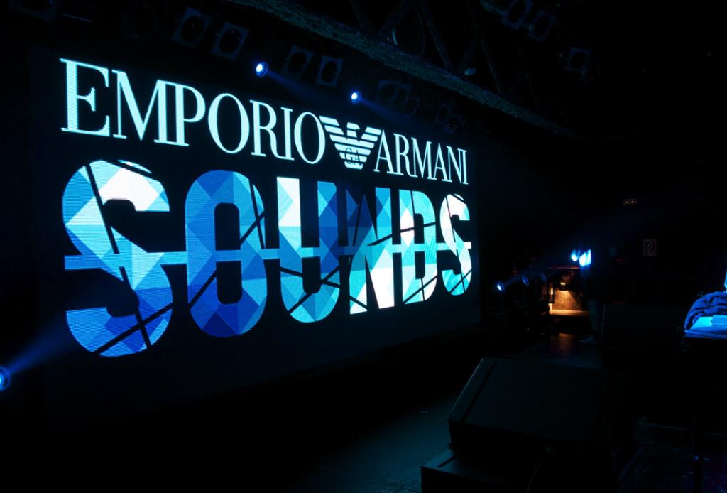 Emporio Armani hizo su app de música