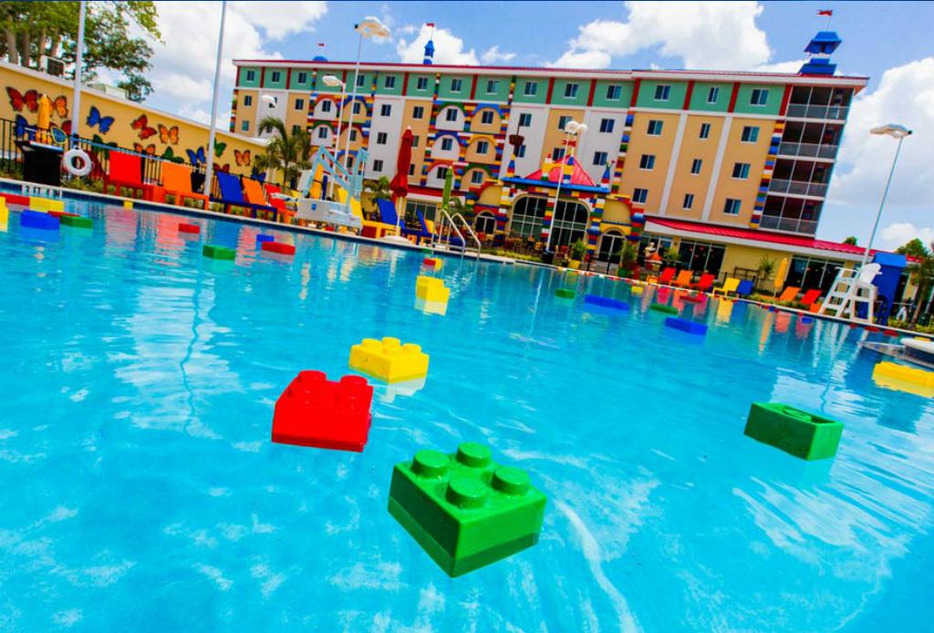 Hospédate en el hotel de Legoland