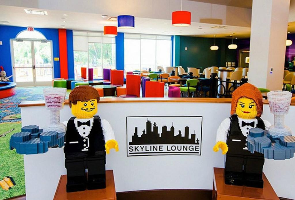 Hospédate en el hotel de Legoland - Legoland-hotel