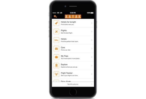 ¿De viaje? Esta app será tu gran aliada - app-kayak-1024x694
