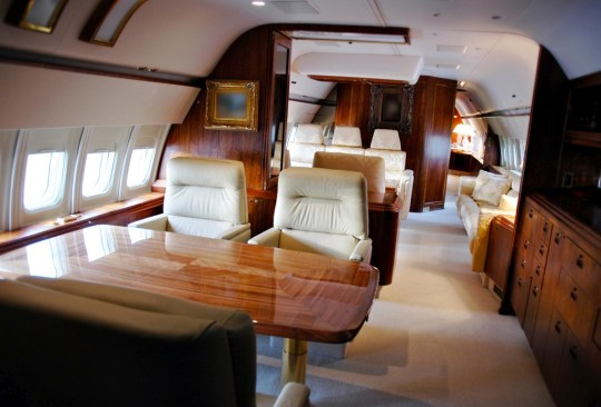 Conoce el avión privado de Donald Trump por dentro - avion-donald-trump-2-1024x694