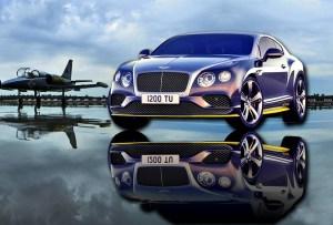 El Bentley inspirado en un avión