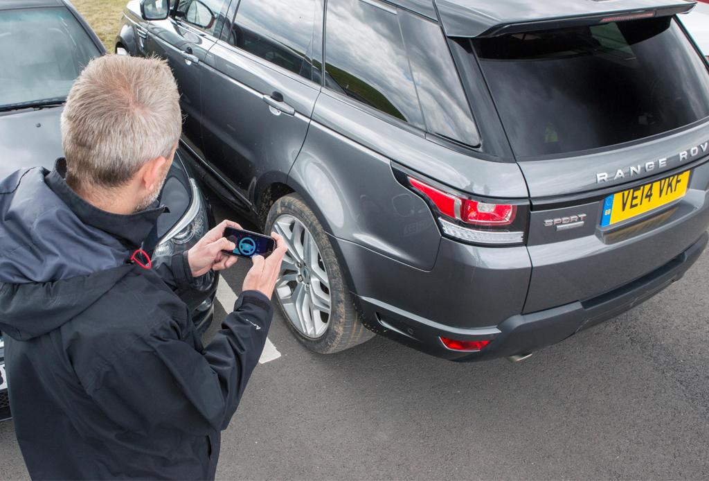 Land Rover a control remoto