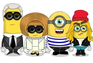 Los Minions en versión fashionista