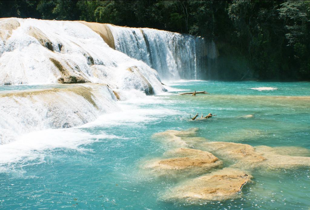 Top 5: las cascadas más impresionantes de México - Agua-azul