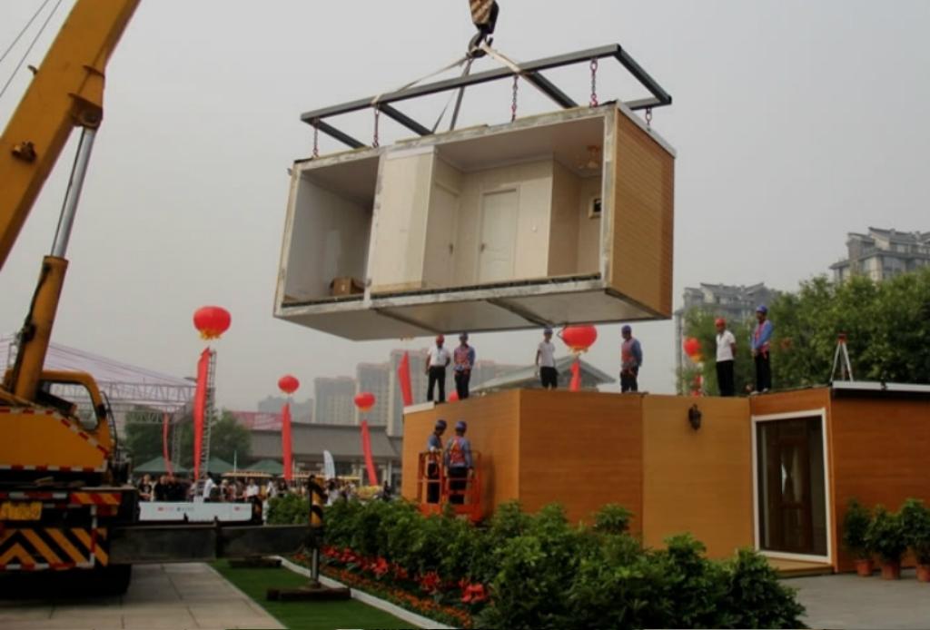 ¡En China imprimieron una casa completa en 3D!