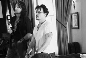 Johnny Depp es parte de una banda musical