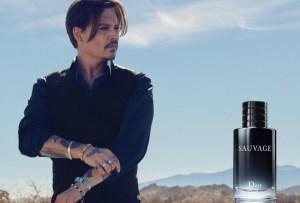 Johnny Depp por primera vez para Dior