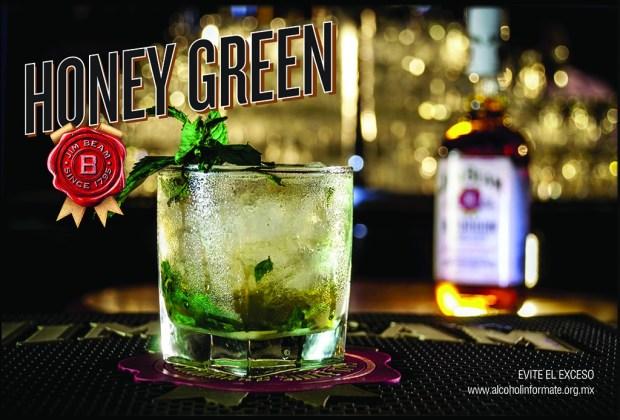 Aprende a preparar un refrescante Honey Green con Jim Beam - Postal_Honey-Green_Frente_15x10-1024x694