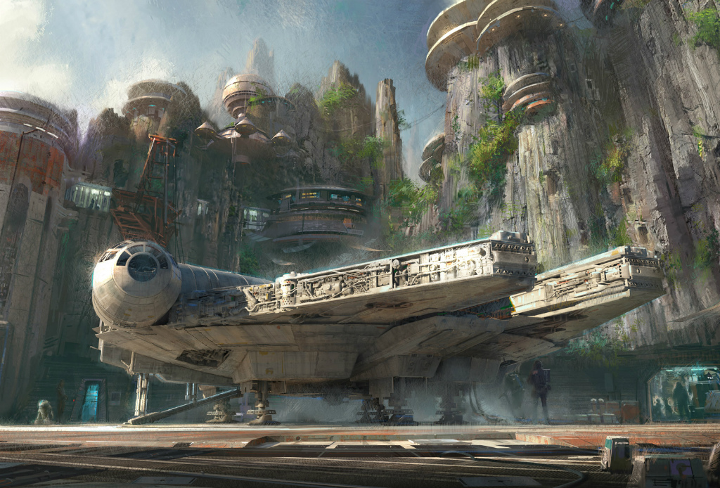¡Van a construir dos parques de Star Wars de Disney! - Star-Wars-Disney-parque