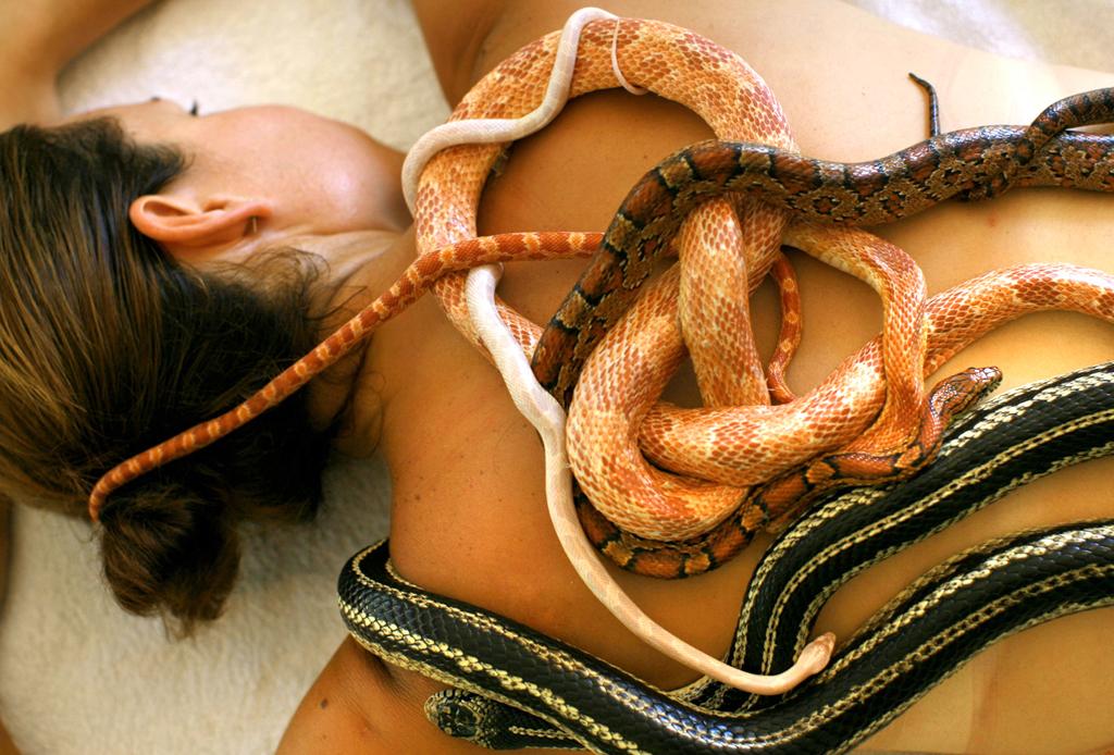 Un masaje… de pavor