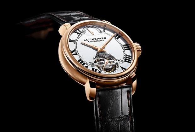 10 de las marcas de relojes más exclusivas del mundo - tourbillon-luc-chopard-1963-1024x694