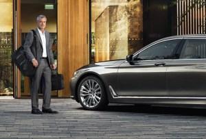 La Serie 7 de BMW interpretada por Montblanc