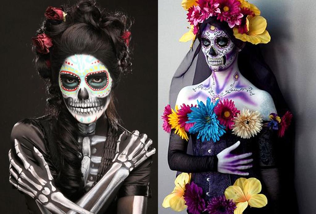 Los mejores make-ups de CATRINA - cagtrina-todo-el-cuerpo