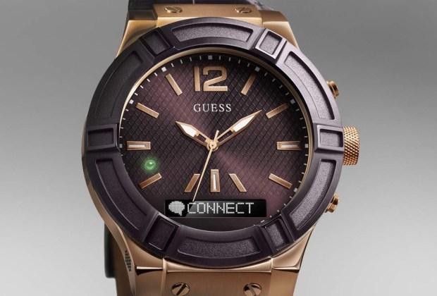 Smartwatches: Una carrera rápida y furiosa - guess-connect-1024x694