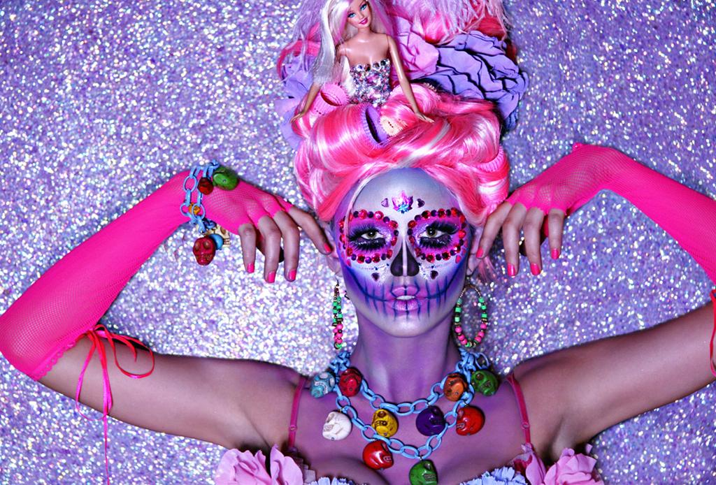 Los mejores make-ups de CATRINA - maquillaje-catrina-barbie