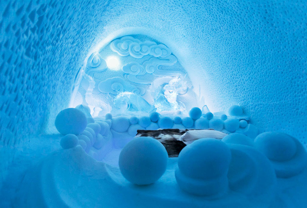 ¡Hospédate en los mejores hoteles de hielo del mundo!