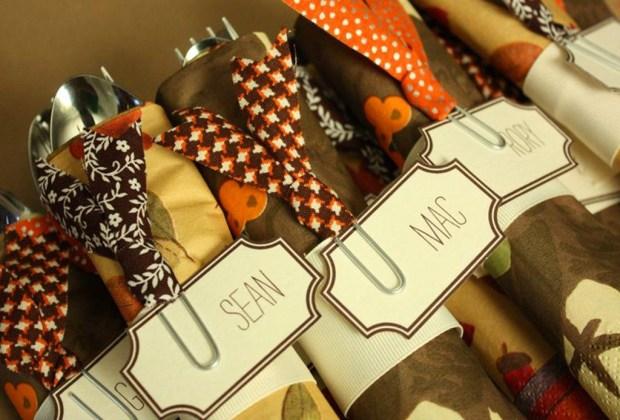 5 tips de decoración para una cálida cena de Thanksgiving - servilletas-1024x694