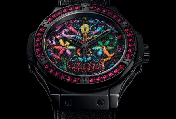Hublot creó un reloj inspirado en la muerte mexicana - hublot-sugar-skull-3-1024x694
