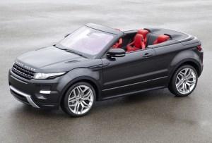 Land Rover presenta la primer Range Rover convertible